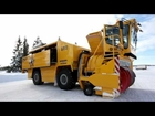 World's largest snow blower HD