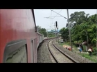 Full Journey on the Howrah Rajdhani Express: Dhanbad-Howrah High Speed Action
