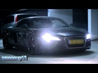 Audi R8 revving and accelerating