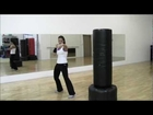 LEARN HOW TO BOX, THROW A FRONT PUNCH, YOUR TIME TRAINING WITH MELISA, BOX 02