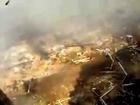 ميدان رابعة العدوية كأنه دمر بقنبلة نووية (المصور قـتـل)