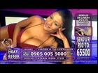 Sophia Lares - Studio 66 TV 3 9 June 2013 Sophia Lares shaking her ...
