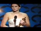 2013 Oscar Ceremony Jennifer Lawrence Oscar Speech 2013 Best Actress