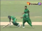 Weird RUNOUT _ Mashrafe Mortaza Knocks Down Hashim Amla