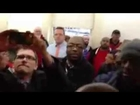 Naked protesters storm office of John Boehner