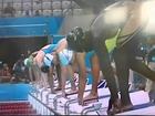 Faye Sultan 50 m Olympic heat 5