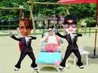 Boom-Kat & Jojo Gangnam Style Las Vegas