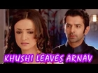 KHUSHI makes up her mind TO LEAVE ARNAV in Iss Pyar Ko Kya Naam Doon 23rd July 2012