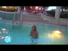 Jazzie Belle in Miami with Pow-Tv.Net . She shows off Swimsuit and Random Girl Shakes Big Booty 2011