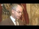Herman van Rompuy, poet-politician, presents book of haikus