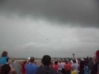F22 Raptor Flying in rain at Fort Wayne Air Show