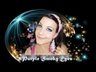 Purple Smoky Eyes ( Tutorial super richiesto!!! )