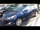 2013 HYUNDAI ELANTRA GT Start Up, Walk Around, Engine, Review