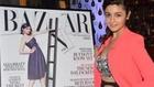 Alia Bhatt Unveils The Latest Cover Of Harper's Bazaar