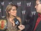 Mickie James After The Match