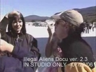 Chyna behind the scenes
