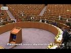 Discours de Nigel Farage contre Van Rompuy 24/02/2010.
