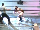 Miss April(AJ Lee),M Hosaka vs The Soul Sisters(wsu)